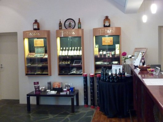 Inside the tasting room within Hardy's Tintara. The selection was good, however being at the end of trip I probably didn't appreciate it as much as I should have. One could say I was a little 'tired and emotional' by this point.